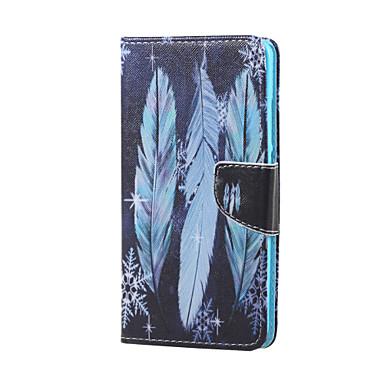 Case Kompatibilitás Huawei Huawei tok Pénztárca Kártyatartó Állvánnyal Flip Teljes védelem Tollak Kemény Műbőr Bőr mert Honor 5X