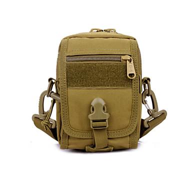 10L L 허리 팩 캠핑 & 하이킹 / 피싱 / 등산 / 승마 / 수렵 / 여행 / Security / 사이클링 / 조깅 야외 / 성능 / 프랙티스 빠른 드라이 / 먼지 방지 / 미끄럼 방지 / 착용할 수 있는 / 다기능카키 / 블랙 / 아미