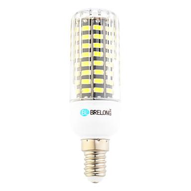 6W E14 LED kukorica izzók T 80 led SMD Meleg fehér Hideg fehér 500-600lm 6000-6500;3000-3500K AC 220-240V