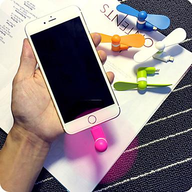 billige Vifte-super praktisk supermakten mini mobiltelefon mini vifte for iPhone 5 / 5s / 6 / 6s / 6 pluss / 6s pluss