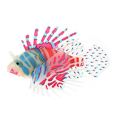 Decorazioni acquario ornamenti pesce finto artificiale for Decorazioni acquario