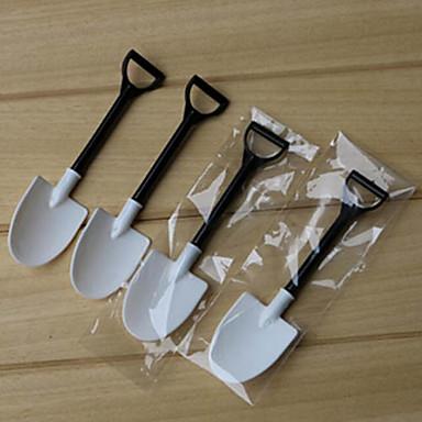 Utensílios de cozinha Plásticos Para Gelado Pás Colher de Sobremesa Novidades 100pcs