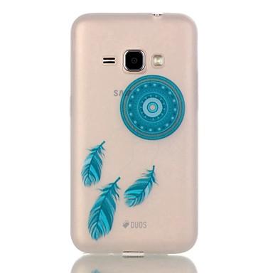 Case Kompatibilitás Samsung Galaxy Samsung Galaxy tok Foszforeszkáló Hátlap Álomfogó TPU mert J1 (2016)