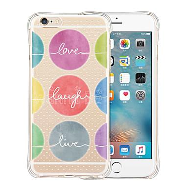 케이스 제품 Apple iPhone 6 iPhone 6 Plus 충격방지 투명 패턴 뒷면 커버 카툰 소프트 실리콘 용 iPhone 6s Plus iPhone 6s iPhone 6 Plus iPhone 6