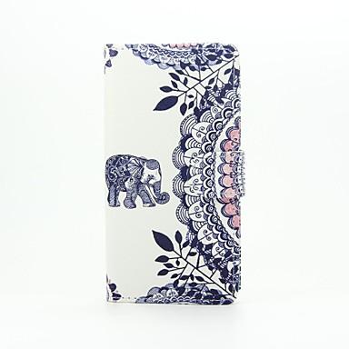 케이스 커버 Huawei 용 P9 Lite 화웨이 케이스 풀 바디 지갑 카드 홀더 코끼리 하드 인조 가죽 P9 Lite Huawei G8 용
