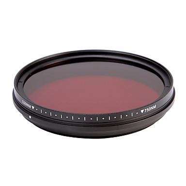fotga® all-in-one állítható 530nm-750nm infravörös ir át röntgen objektív szűrő 46/49 / 52 / 55mm