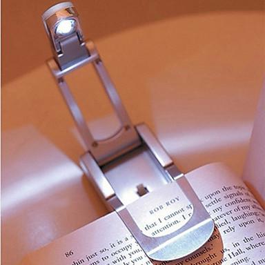 1 db LED olvasólámpa Éjjeli fény AkkumulátorBattery Lengő kar