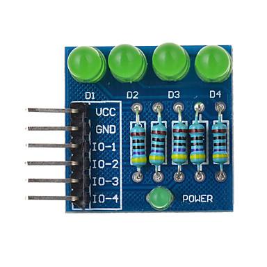 4p led dióda PWM-tompítás modul zöld fény - kék alkalmas Arduino tudományos kutatás