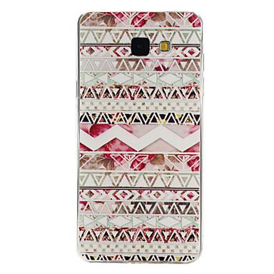 rózsaszín etnikai mintás TPU anyag telefon tok Samsung galaxy galaxy a3 (2016) / galaxis a5 (2016) / galaxis a7 (2016)