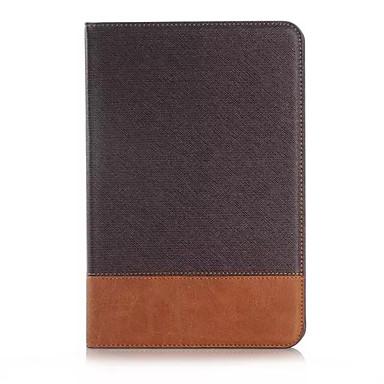용 삼성 갤럭시 케이스 카드 홀더 / 지갑 / 스탠드 / 플립 케이스 풀 바디 케이스 단색 인조 가죽 Samsung Tab A 8.0