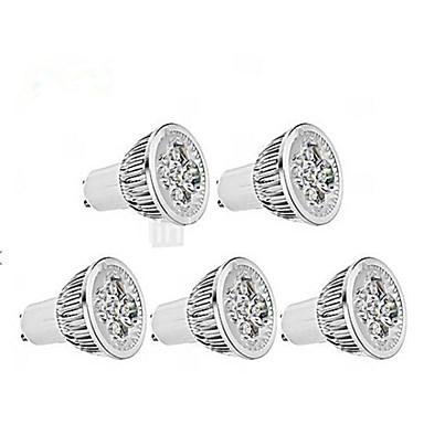 5W GU10 LED-spotlampen / Par-lampen MR16 1 350-400 lm Warm wit / Koel wit AC 85-265 V 5 stuks
