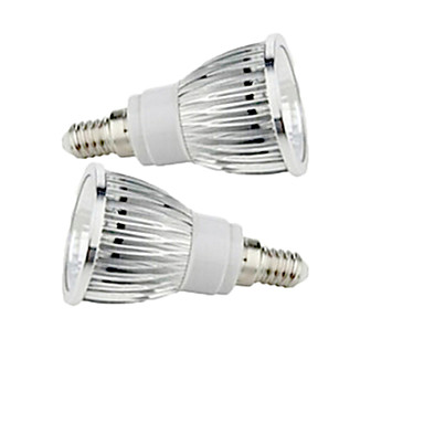 2.5W 200-250 lm E14 Lâmpadas de Foco de LED 1 leds COB Branco Quente Branco Frio AC 85-265V