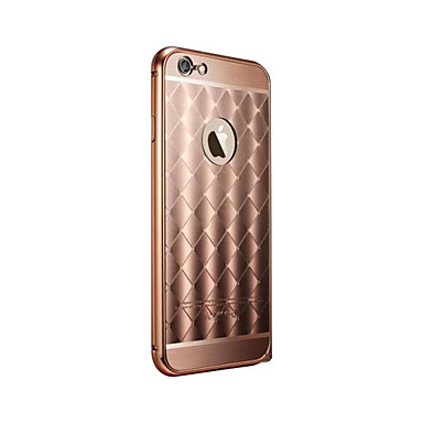 Case Kompatibilitás iPhone 6 iPhone 6 Plus Other Hátlap Tömör szín Kemény Fém mert iPhone 6s Plus iPhone 6 Plus iPhone 6s iPhone 6