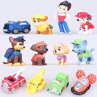 Rajzfilmfigurák és plüss állatok Kutyák Autó Fiú Lány 12