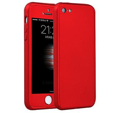 Недорогие Кейсы для iPhone-Кейс для Назначение iPhone 5 / Apple iPhone 8 Pluss / iPhone 8 / iPhone SE / 5s Защита от удара Кейс на заднюю панель броня Твердый ПК