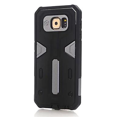 Недорогие Чехлы и кейсы для Galaxy S6-Кейс для Назначение SSamsung Galaxy S7 edge / S7 / S6 edge plus Защита от удара Кейс на заднюю панель броня ПК
