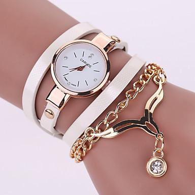 8437719d3388 abordables Relojes de Mujer-Mujer Reloj de Pulsera Cuarzo Piel Negro    Blanco   Azul