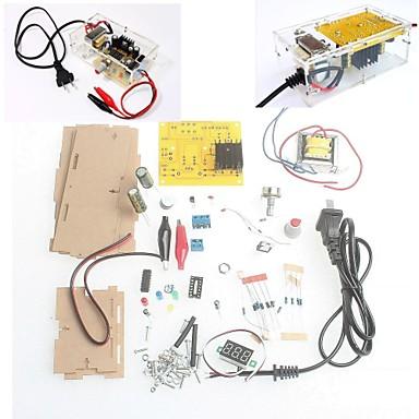 소매 상자 DIY 키트 LM317 조절 조절 전압 스텝 다운 전원 공급 장치 제품군 모듈 무료 배송