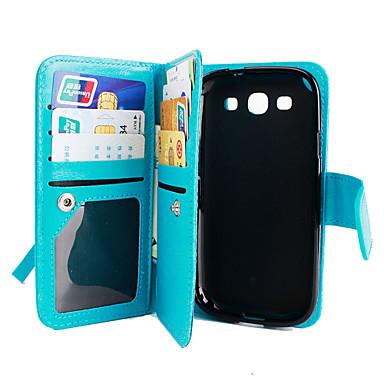 용 삼성 갤럭시 케이스 지갑 / 카드 홀더 / 스탠드 / 플립 케이스 풀 바디 케이스 단색 인조 가죽 Samsung Grand Prime / Core Prime