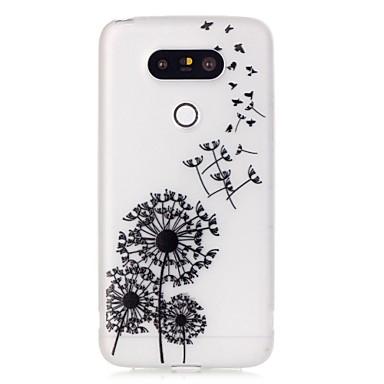 Mert LG tok Foszforeszkáló / Minta Case Hátlap Case Pitypang Puha TPU LG LG G5