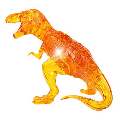 ZHILING 조립식 블럭 직쏘 퍼즐 크리스탈 퍼즐 장난감 공룡 노블티 크리스탈 ABS 50 조각