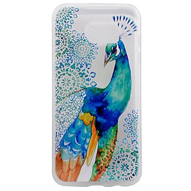 제품 Samsung Galaxy S7 Edge 케이스 커버 투명 패턴 뒷면 커버 케이스 동물 소프트 TPU 용 S7 edge S7
