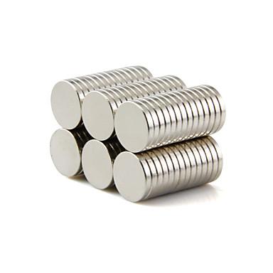 Mágneses játékok Építőkockák Super Strong ritkaföldfémmágnes 50 Darabok 10*1.5mm Játékok Mágnes Körkörös Ajándék