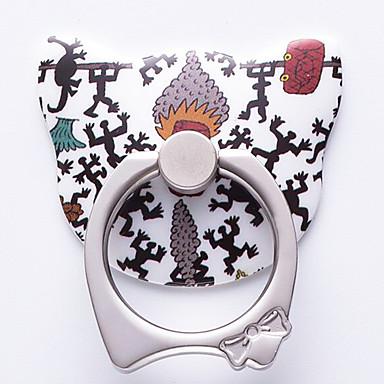 divat kreatív karikatúra macska gyűrű tartó iphone 8 7 samsung galaxis s8 s7
