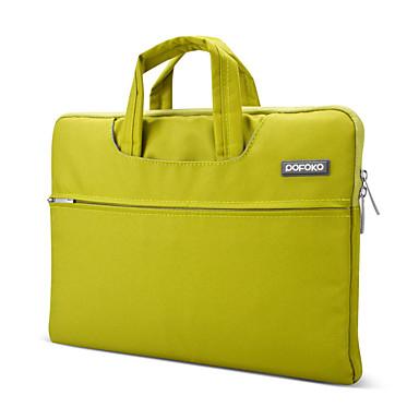 pofoko® 13 inch oxford szövet laptop ujjú kék / zöld