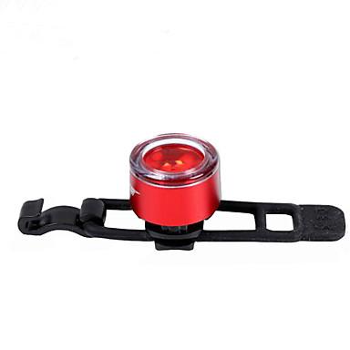 Kerékpár hátsó lámpa - Kerékpározás Színváltós gomb akkumulátor 2 Lumen Akkumulátor Kerékpározás