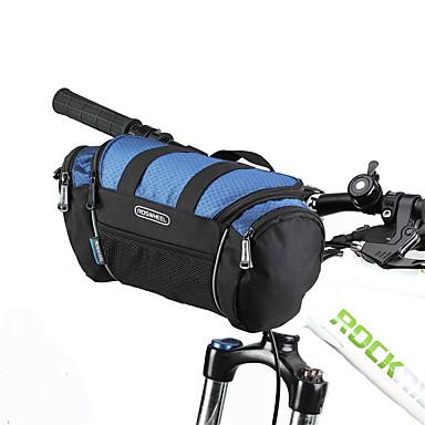 ROSWHEEL 자전거 가방자전거 핸들바 백 어깨에 매는 가방 방수 지퍼 방습 충격방지 착용할 수 있는 싸이클 가방 PVC 600D 폴리에스터 싸이클 백 Samsung Galaxy S6 사이클링