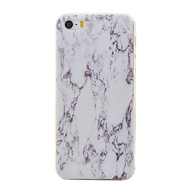 Mert iPhone 5 tok Minta Case Hátlap Case Márvány Puha TPU Apple iPhone SE/5s/5