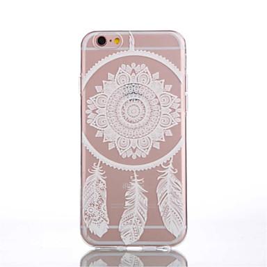 Case Kompatibilitás iPhone 6 Plus iPhone 6 Átlátszó Minta Hátlap Álomfogó Puha TPU mert iPhone 6s Plus iPhone 6 Plus iPhone 6s iPhone 6