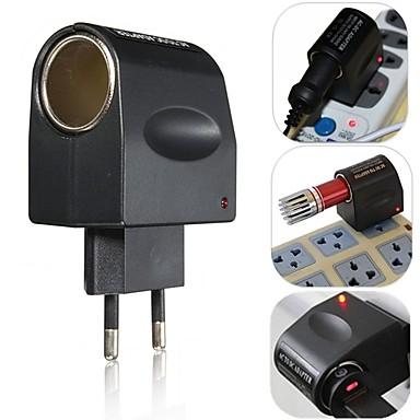európai új, elegáns, a legjobb ár 220V-os AC 12V DC autós könnyebb fali konnektorba csatlakozó adapter átalakító