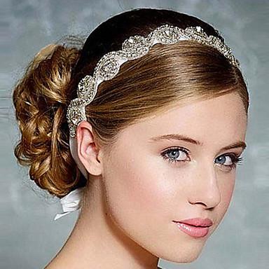 여성용 우아함 머리띠 꽃패턴