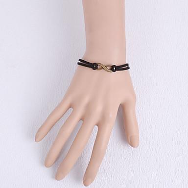 Női Csipke Mások Gyűrű karkötők - Egyedi Divat Fekete Karkötők Kompatibilitás Parti Napi Hétköznapi