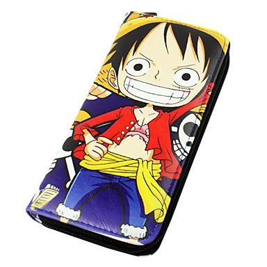 Pénztárcák Ihlette One Piece Monkey D. Luffy Anime Szerepjáték Kiegészítők Még több kiegészítő Uniszex