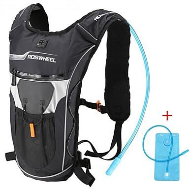 자전거 가방 4L 배낭 하이드레이션 팩 & 물병 방수 착용 가능한 충격방지 다기능 싸이클 가방 천 PVC 600D 폴리 에스테르 테릴렌 싸이클 백 사이클링 / 자전거