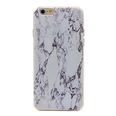 Kompatibilitás iPhone 6 iPhone 6 Plus tokok Minta Hátlap Case Márvány Puha Hőre lágyuló poliuretán mert Apple iPhone 7 Plus iPhone 7