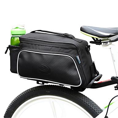 ROSWHEEL 자전거 가방 10L자전거 트렁크 백/자전거 짐바구니 자전거 트렁크 백 방수 착용 가능한 충격방지 싸이클 가방 천 폴리 에스터 PVC 테릴렌 싸이클 백 사이클링 / 자전거