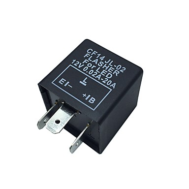 car motorcycle 12v electronic led relay fix blinker. Black Bedroom Furniture Sets. Home Design Ideas