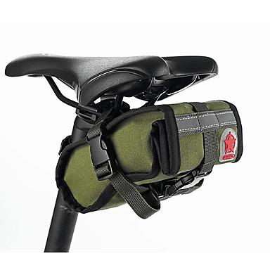 ROSWHEEL® Kerékpáros táskaNyeregtáska Vízálló / Ütésálló / Viselhető / Többfunkciós Kerékpáros táska Vászon / Ruhaanyag Kerékpáros táska