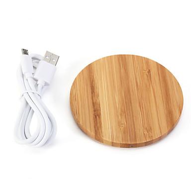 Недорогие Гаджеты для Samsung-Док-зарядное устройство / Беспроводное зарядное устройство Зарядное устройство USB Универсальный 1 USB порт 1 A DC 5V для