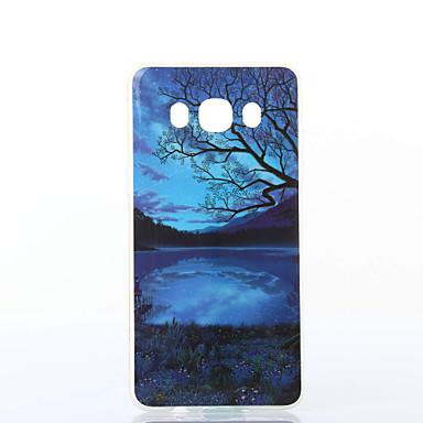 Mert Samsung Galaxy tok Minta Case Hátlap Case Látvány Puha TPU Samsung J7 (2016) / J5 (2016)