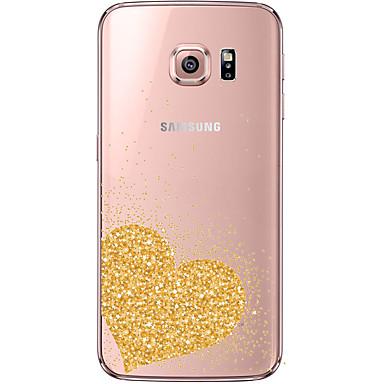 케이스 제품 Samsung Galaxy Samsung Galaxy S7 Edge 투명 패턴 뒷면 커버 심장 소프트 TPU 용 S7 edge S7 S6 edge plus S6 edge S6