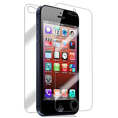 Ecran protector Apple pentru iPhone 6s Plus iPhone 6 Plus iPhone SE/5s Sticlă securizată 1 piesă Ecran Protecție Față & Spate La explozie