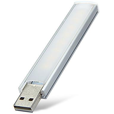 Недорогие USB-фонари-YWXLIGHT® 1шт 2 W 180-220 lm 8 Светодиодные бусины SMD Декоративная Тёплый белый Холодный белый <5 V