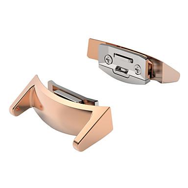 Fekete / Rózsa / Arany / Ezüst Rozsdamentes acél durable Sportszíj / Hagyományos csat Mert Samsung Óra 20mm