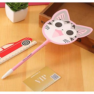 koreai modellek írószerek aranyos macska fan zselés toll kreatív aranyos diák díjak (4db)