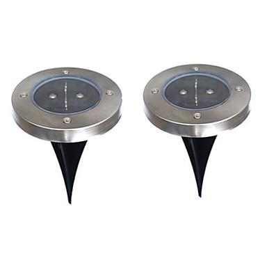 6W Napelemes LED világítás 200 lm Meleg fehér Dip LED Akkumulátor V 2 db